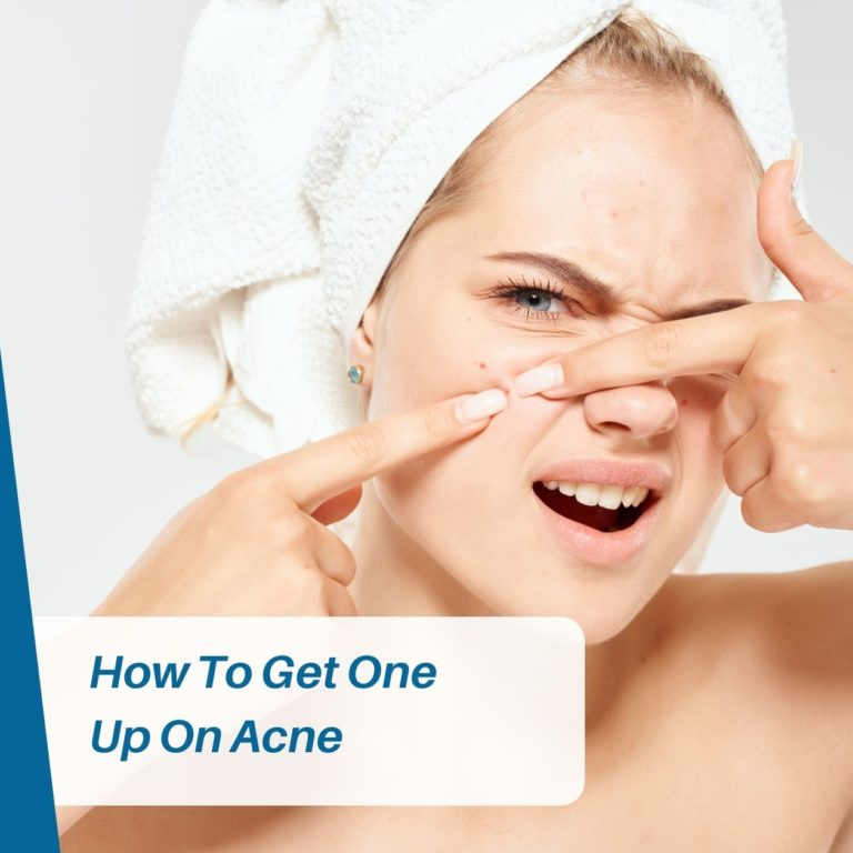 How To Get One Up On Acne