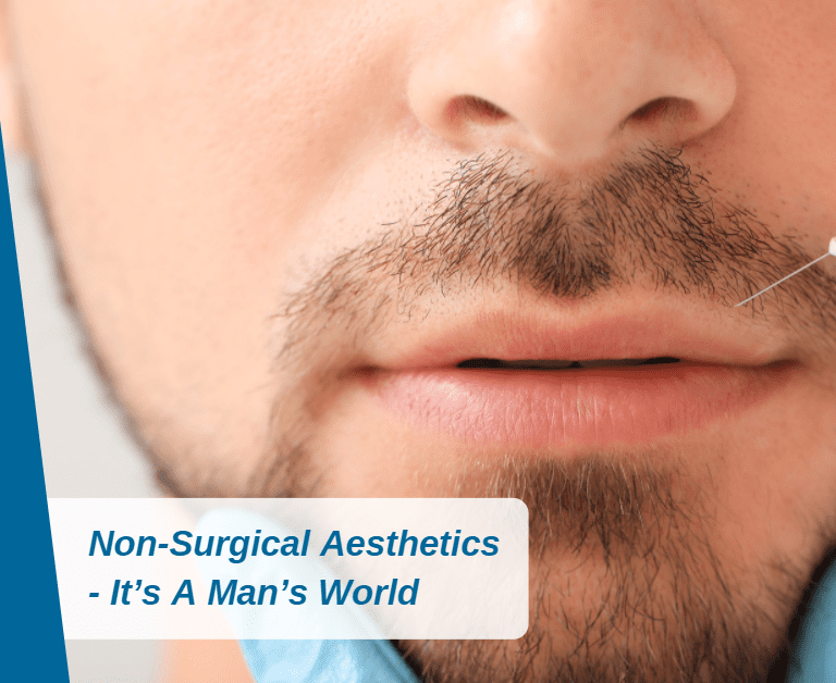 Non-Invasive Cosmetic Procedures – It's A Man's World